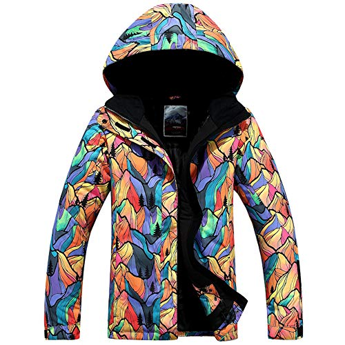 GSOU SNOW Women's Ski Jacket Windproof Waterproof Snowboarding Jacket