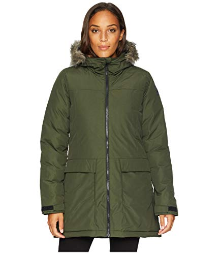 adidas outdoor Xploric Parka Night Cargo MD (US 8-10)