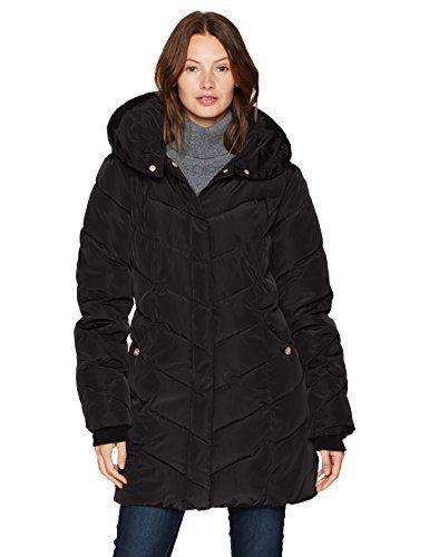 Steve Madden Women's Long Heavy Weight Puffer Jacket