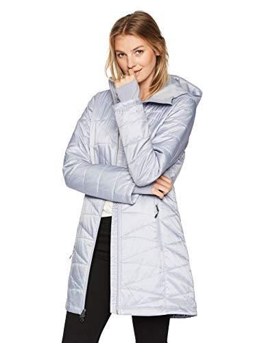 Columbia Women's Standard Mighty Lite Hooded Jacket, Astral, Medium