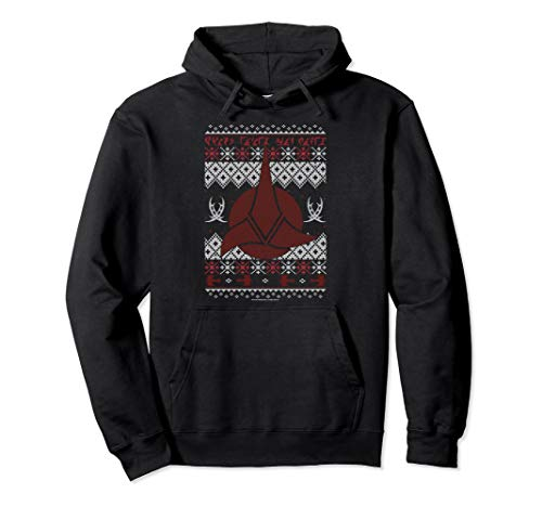 Star Trek Next Generation Klingon Ugly Christmas Hoodie