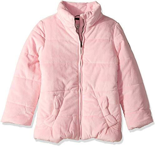 Calvin Klein Big Girls' Glacial Puffer Jacket, Velour Medium Pink