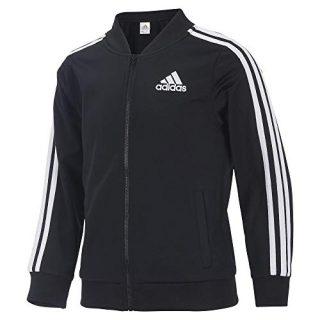 Adidas Girls' Big Tricot Bomber Track Jacket