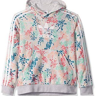adidas Originals Kids' Big Juniors FLW Hooded Sweatshirt