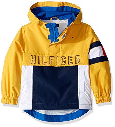 Tommy Hilfiger Boys' Adaptive Hooded Popover Jacket