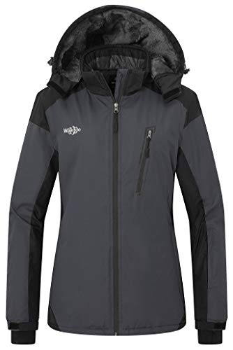 Wantdo Women's Mountain Jacket Wind Block Winter