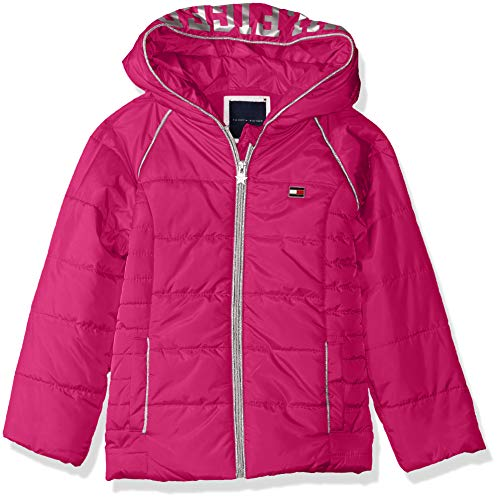 Tommy Hilfiger Girls' Little Quilted Puffer Jacket