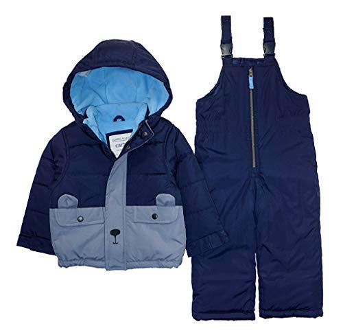 Carter's Boys' Toddler Heavyweight 2-Piece Skisuit Snowsuit