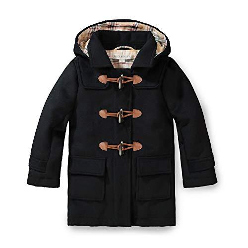 Hope & Henry Unisex Kids Toggle Duffle Coat Black