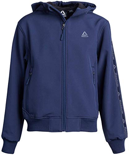 Reebok Boys Soft Shell Fleece Lined Full Zip Jacket