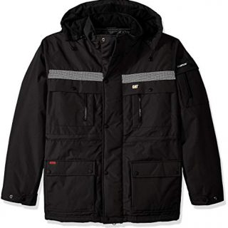 Caterpillar Men's Big and Tall Heavy Insulated Parka