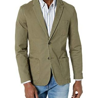 Goodthreads Men's Slim-Fit Stretch Twill Blazer