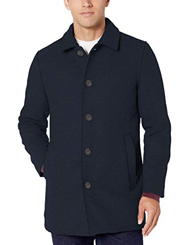 Amazon Essentials Men's Wool Blend Heavyweight Car Coat