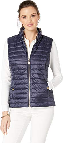 Lilly Pulitzer Women's Elyn Puffer Vest True Navy