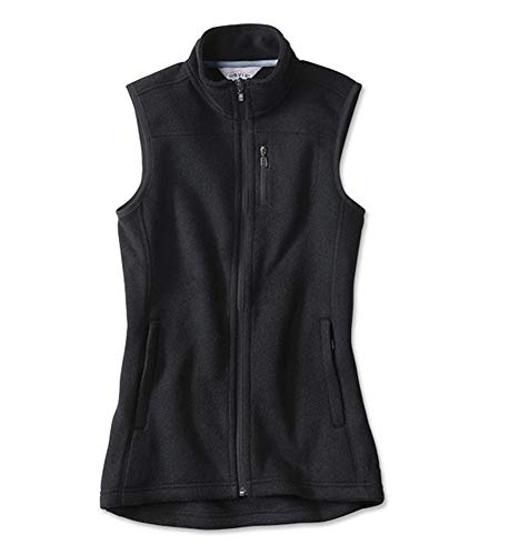 Orvis Women's Marled Sweater Fleece Zip-Front Vest/Marled Sweater-Fleece
