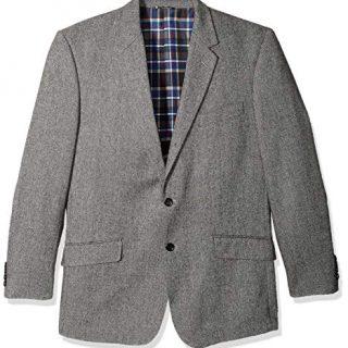 U.S. Polo Assn. Men's Portly Cotton Cashmere Sport Coat