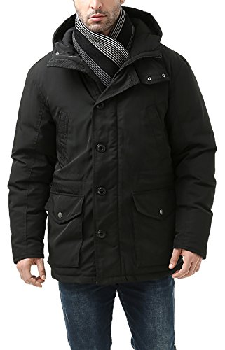 BGSD Men's Tommy Hooded Waterproof Down Parka Coat