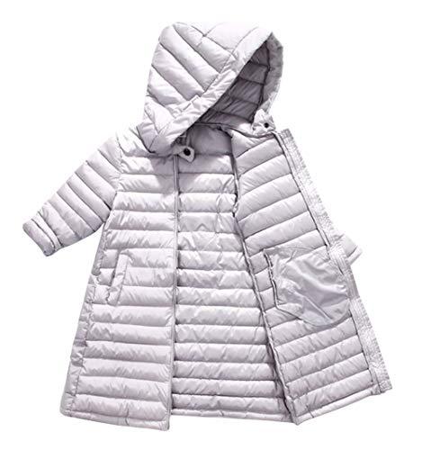 Girls Winter Warm Overcoat Boys Padded Hooded Windproof Outwear Parka