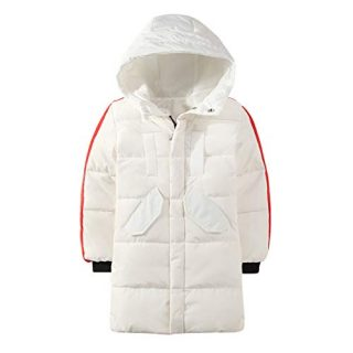 Zhhlinyuan Long Puffer Quilted Insulated Jacket Boy Girl
