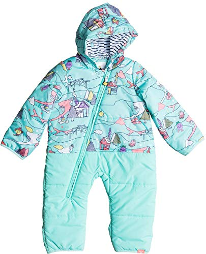 ROXY Girls' Toddler Baby Rose Snow Jumpsuit