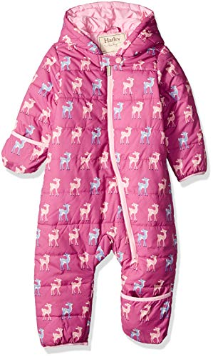 Hatley Baby Girls Winter Bundlers, Patterned Fawns