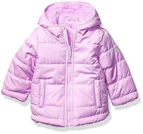Osh Kosh Baby Girls Reversible Puffer Jacket Coat