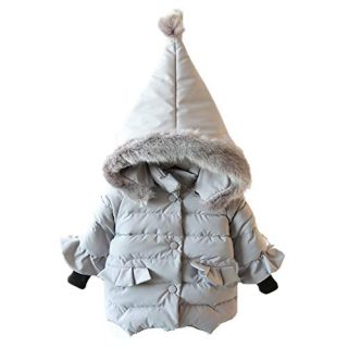 RACHAPE Kids Winter Parka Down Coat Baby Boys Girls Snowsuit Puffer Jacket