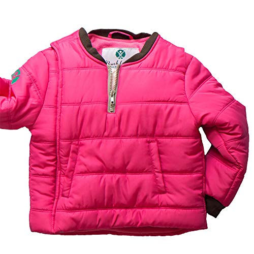 Buckle Me Baby Coat - Safer Car Seat Girls Winter Jacket