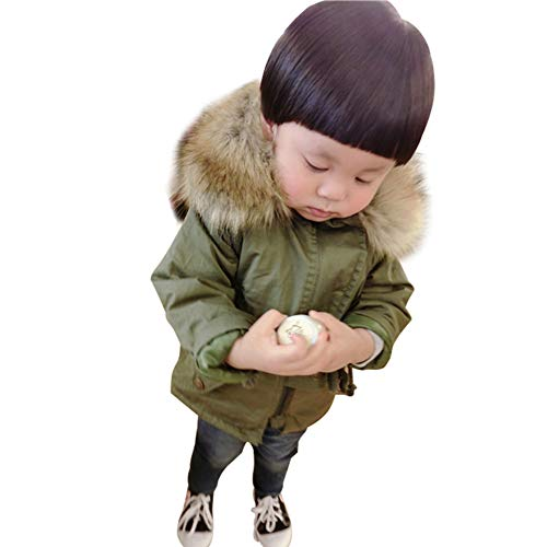 Happy childhood Baby Boys Winter Hooded Jacket Coat Warm Cotton Coat