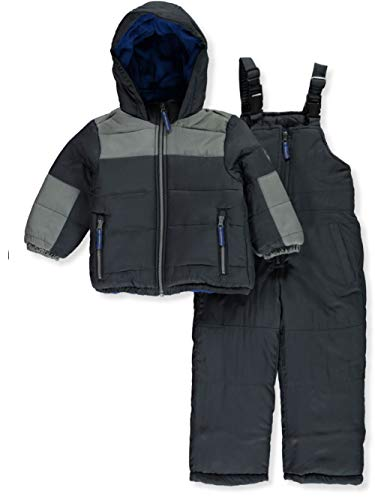 Osh Kosh Boys' Little Ski Jacket and Snowbib Snowsuit Set