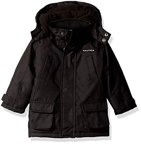 Nautica Baby Boys Heavyweight Snorkel Jacket with Storm Cuffs