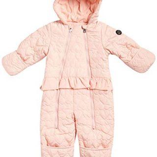 Jessica Simpson Baby Girls Hooded Heart Snowsuit Pram