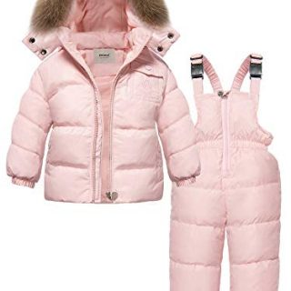 ZOEREA Girls Winter Snowsuit, Newest Children Clothing Sets