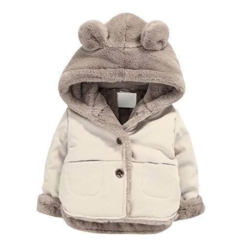 NinkyNonk Toddler Fleece Jacket, Warm Cotton Baby Winter Coats