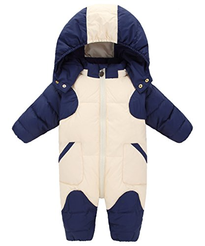 GainKee Baby Girl and Boy Snowsuit Duck Down Jacket Kids Snow