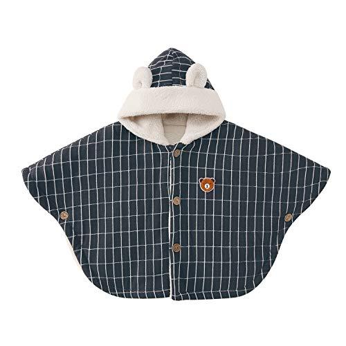 pureborn Baby Hooded Carseat Poncho Cape Cloak Fleece Coat Snowsuit