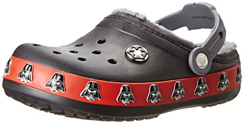 crocs Darth Vader Clog (Toddler/Little Kid),Black