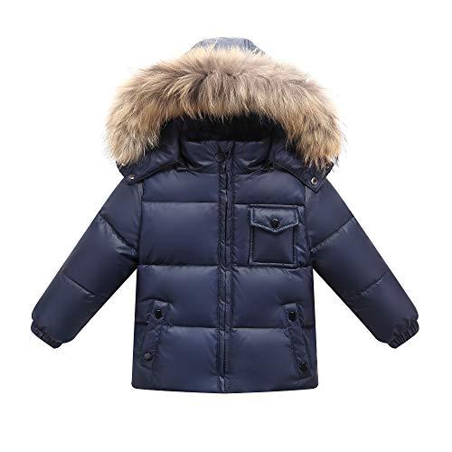 Orangemom Kids Baby Winter Coat Children Girl Boy Hooded Snowsuit
