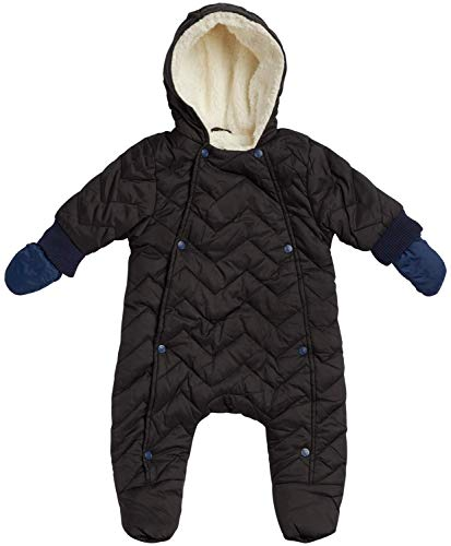 Urban Republic Newborn Baby Boys Quilted Puffer Pram Winter Snowsuit