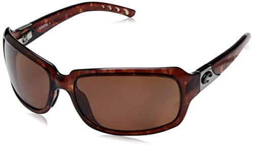 Costa Del Mar Isabela Polarized Sunglasses, Tortoise