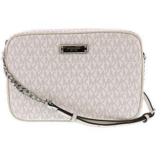 MICHAEL Michael Kors Large East/West Crossbody Bright White