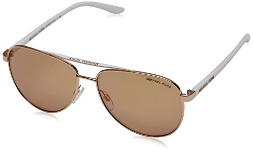 Michael Kors Rose Gold Hvar Pilot Sunglasses Lens Category 2 Lens