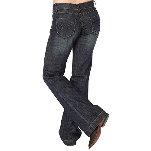 """Stetson Denim Trouser S"""" on Back Pocket Blue"""