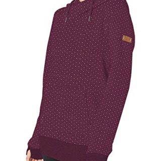 Roxy Snow Junior's Dipsy Hoodie, Grape Wine