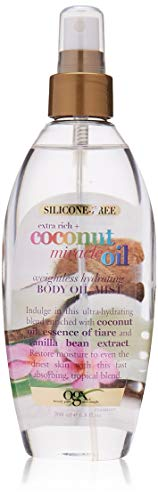 OGX Extra Rich + Coconut Miracle Oil Weightless Hydrating Silicone-Free Body Oil
