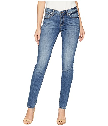 KUT from The Kloth Diana Kurvy Skinny Jeans in Perfection Perfection/Medium
