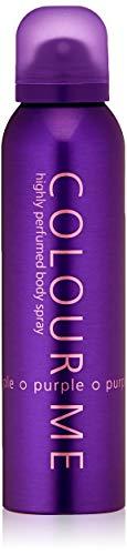 Colour Me | Purple | Body Spray Mist | Womens Fragrance | Chypre Fruity Scent