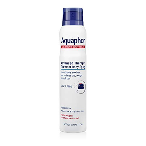 Aquaphor Ointment Body Spray - Moisturizes and Heals Dry, Rough Skin