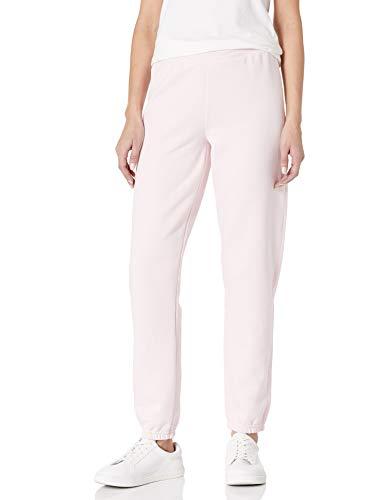 Hanes Women's Mid Rise Cinch Leg Pant, Pale Pink
