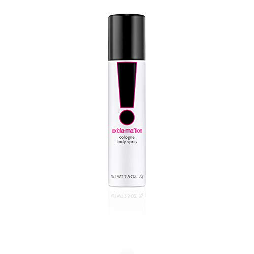 Emeraude Exclamation Cologne Body Spray by Emeraude 2.5 Fluid Ounce